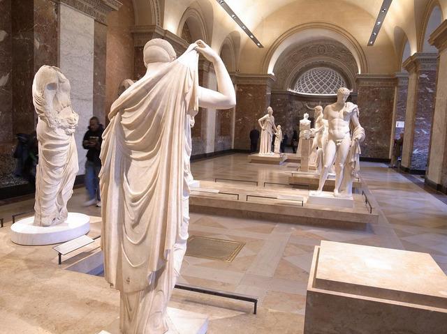 042_彫刻の部屋、大理石