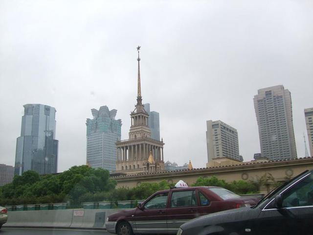 1.7.0.1上海_タクシーから