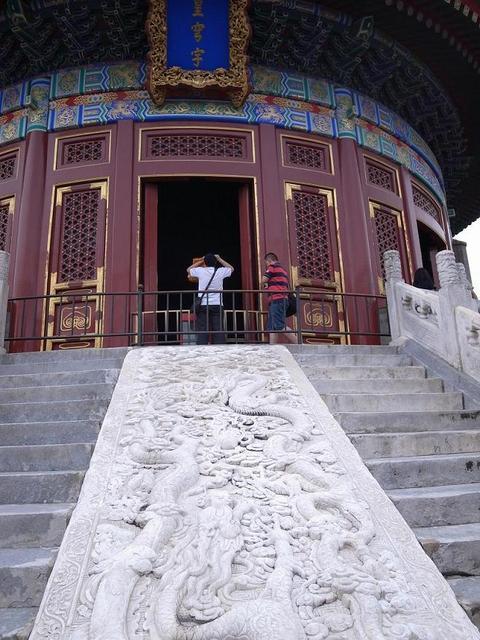 110903_北京_祈年殿の大理石