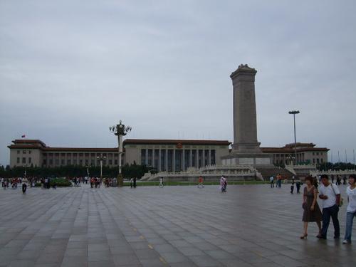 070801_中国へ:人民英雄記念碑