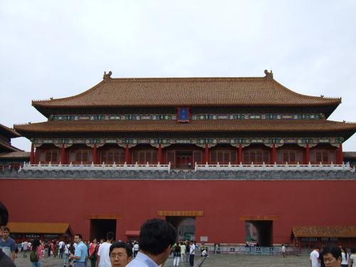 070803_中国へ:故宮の入り口