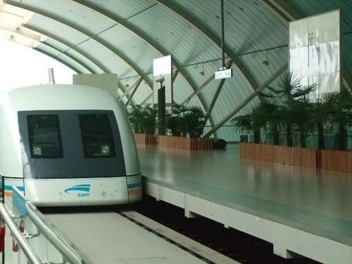 070827_中国へ:上海のリニアモータ