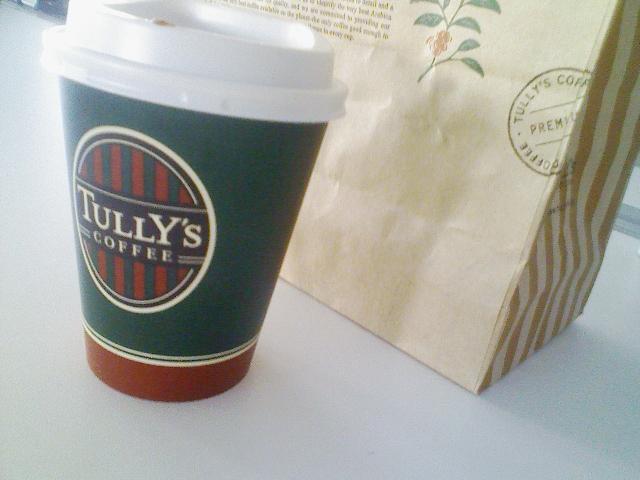 今日も朝カフェ。