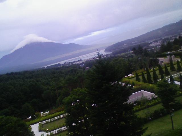 お洒落な富士山。