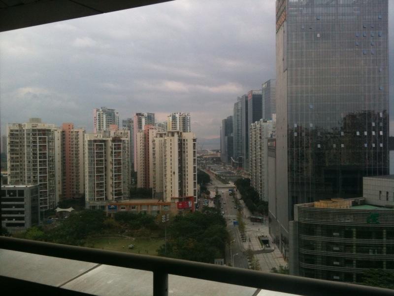 華南の朝。