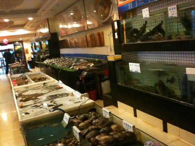 海鮮料理。