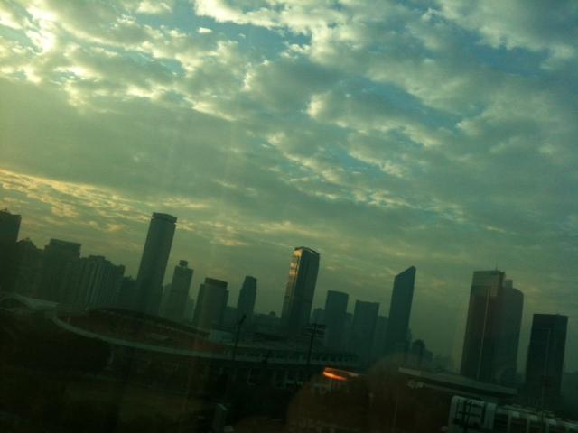 中国に来たよ。