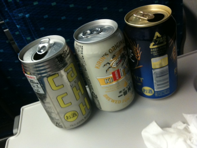 新幹線で。。。
