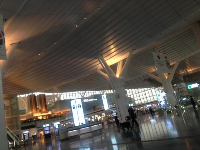 羽田ターミナル。