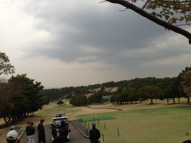 ゴルフコンペ参加。