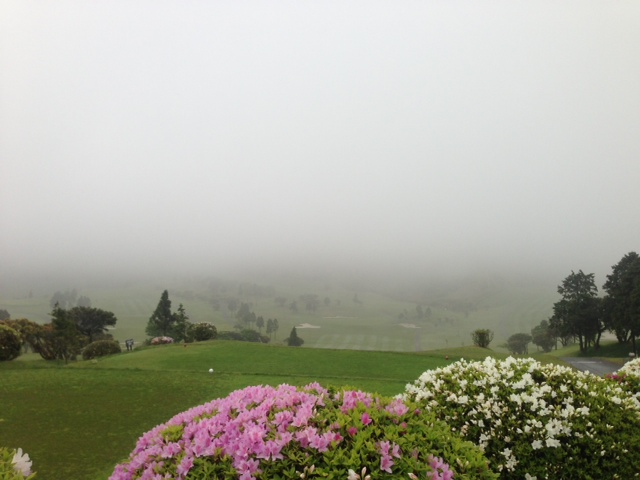 霧ノチ晴。