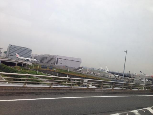 羽田到着。