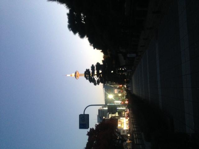 京都をちょい歩き。